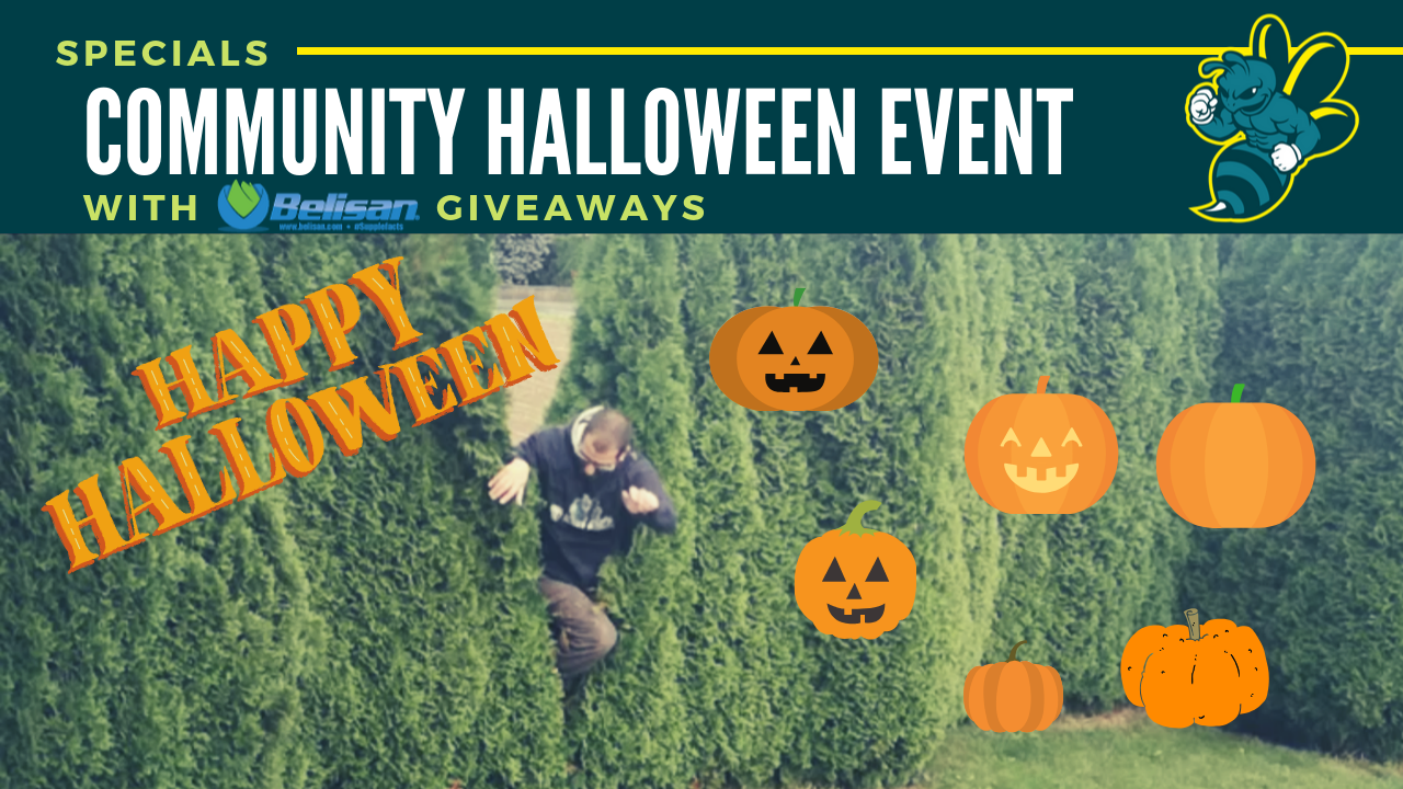 Crypto Community Halloween Event with great Prizes!
