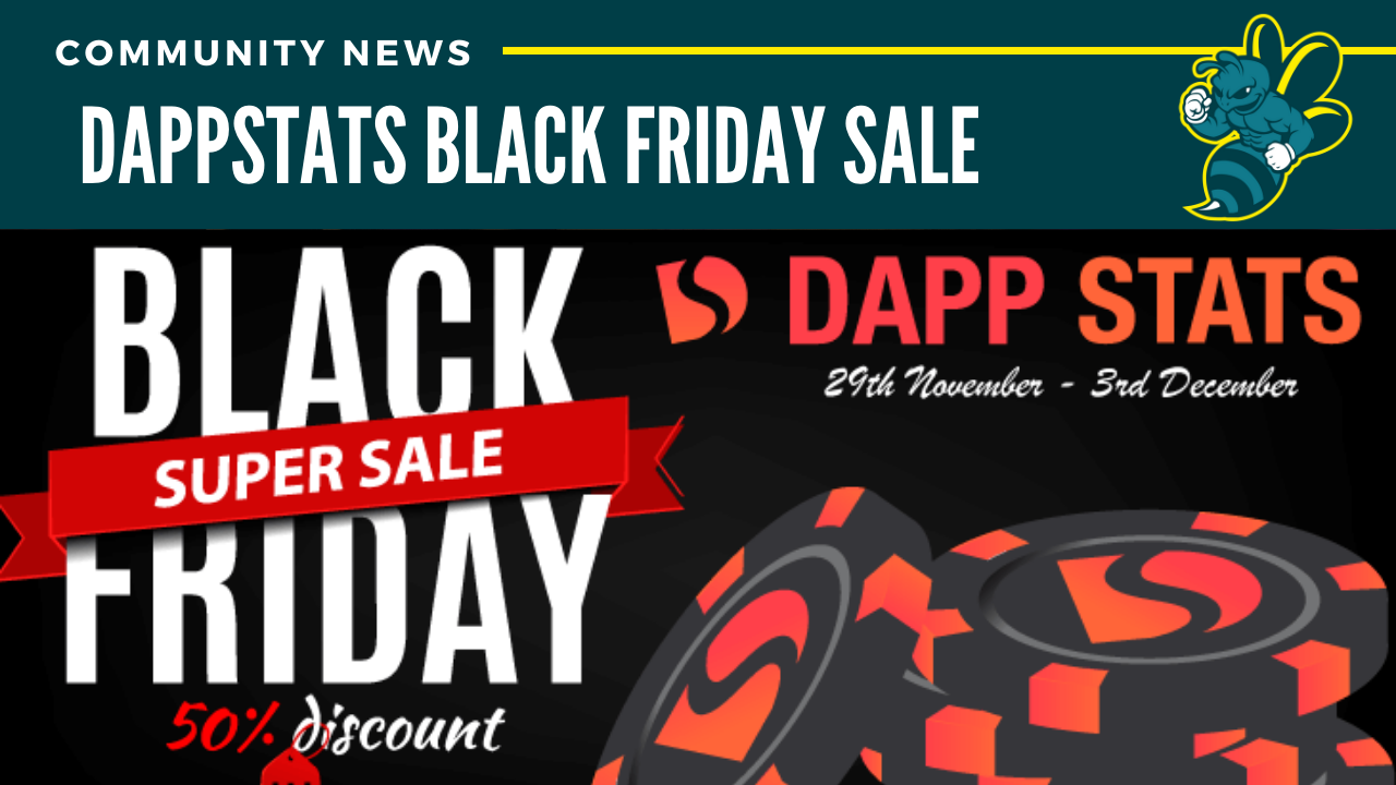 DappStats Black Friday Sale