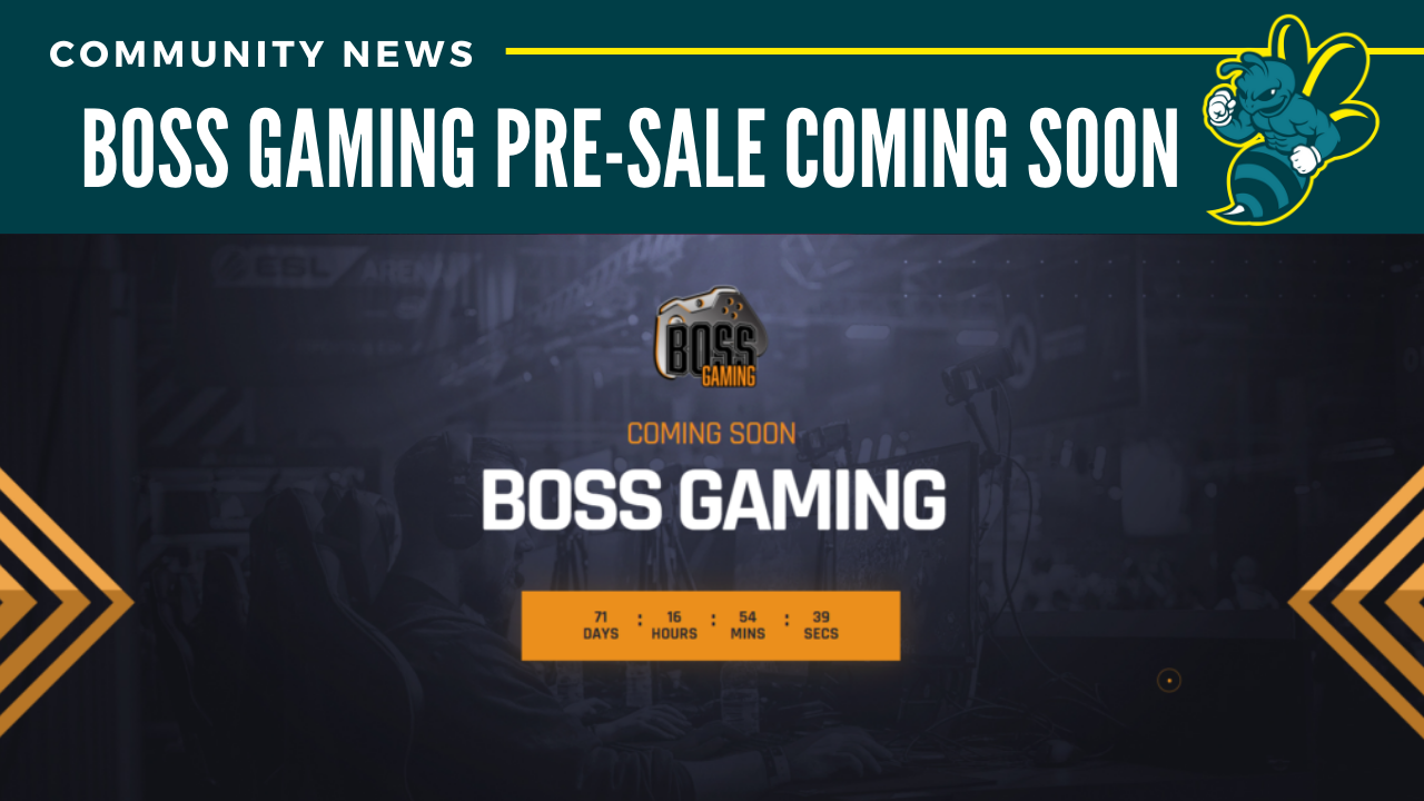 Boss Gaming Pre-Sale coming soon