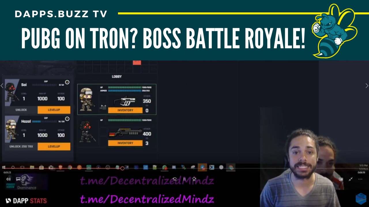 Boss Battle Royale is PUBG on Tron!