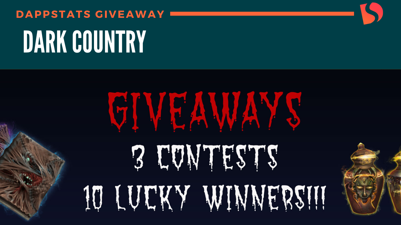 DappStats – Dark Country Giveaway