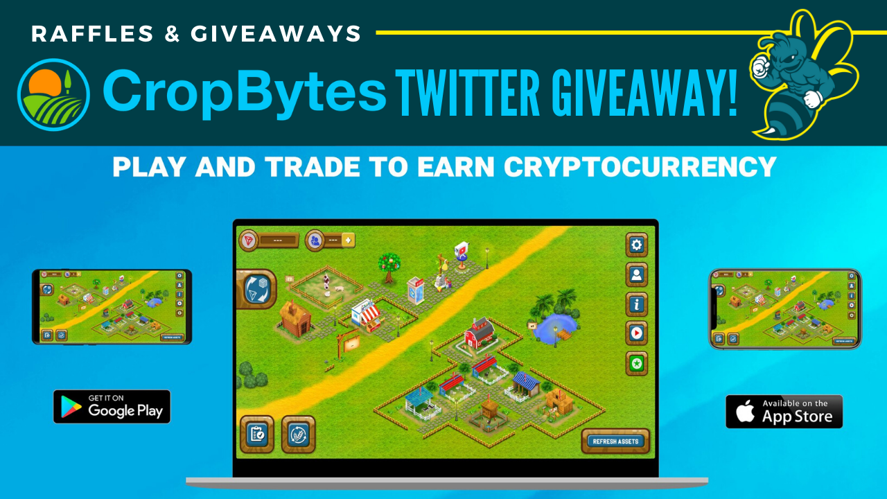 CropByteS Twitter Giveaway!