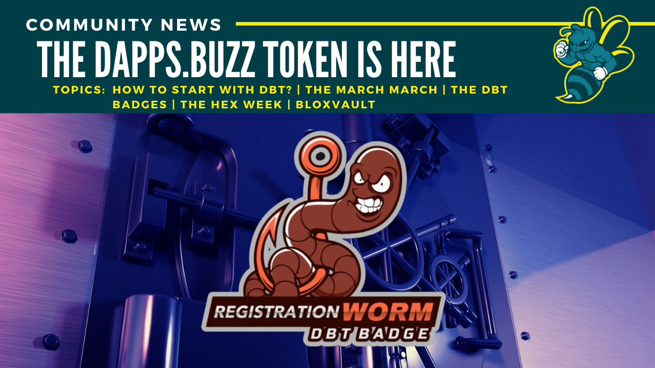 The DApps.Buzz Token is here