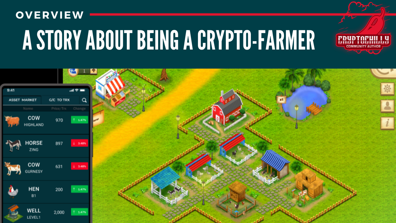 A Story about being a crypto-farmer