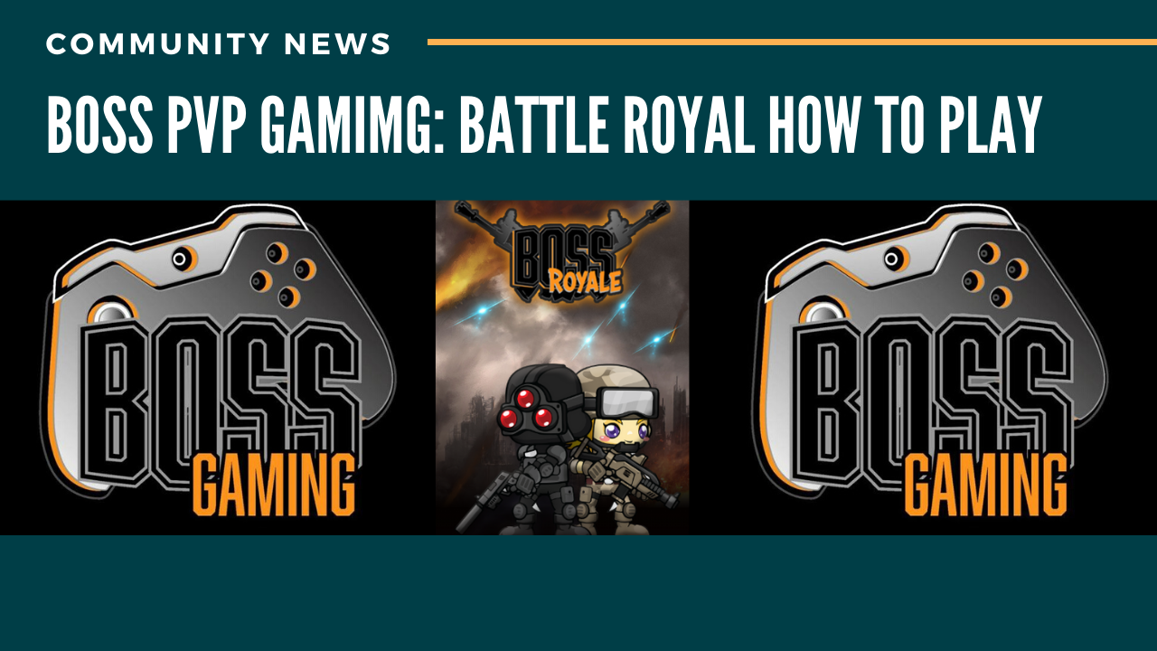Boss pvp gaming: Battle Royal How to play