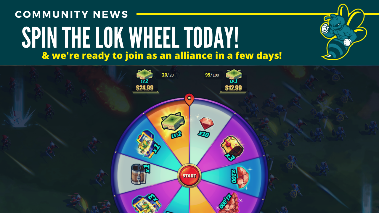 League of Kingdoms: DappStats Alliance & Spin Wheel Wins!