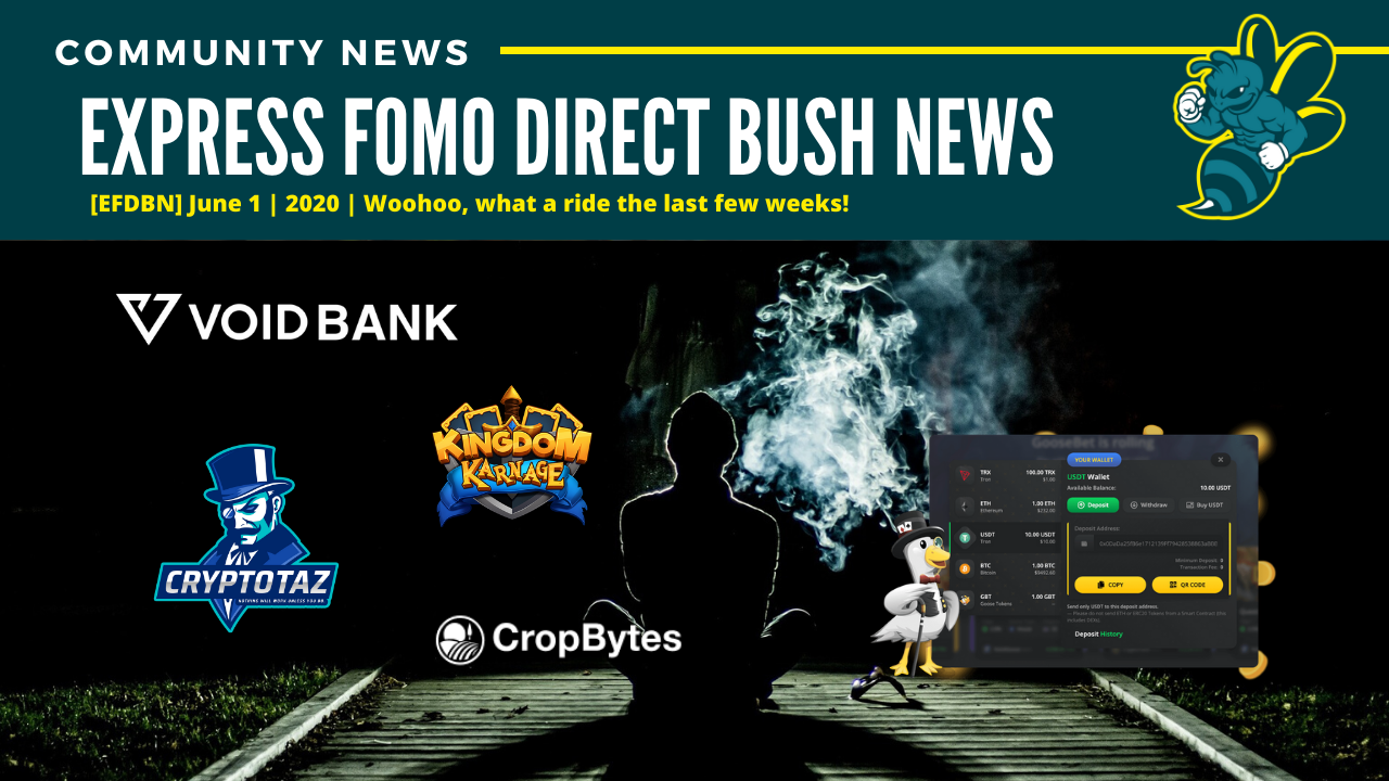 [EFDBN] Express FOMO Direct Bush News