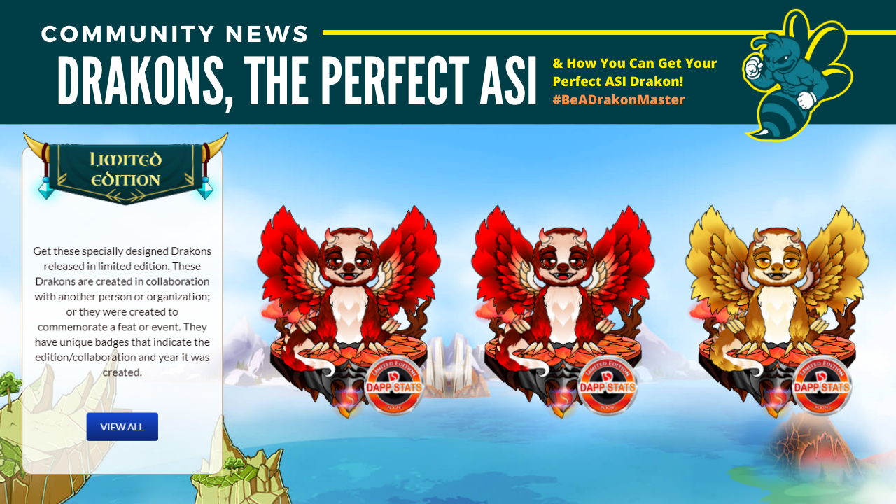 HURRY: The Perfect ASI Drakon Giveaway!