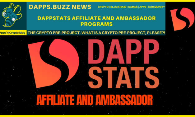 introducing Dappstats Affiliate and ambassador programs