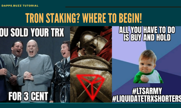 Tron Staking? Where to begin!