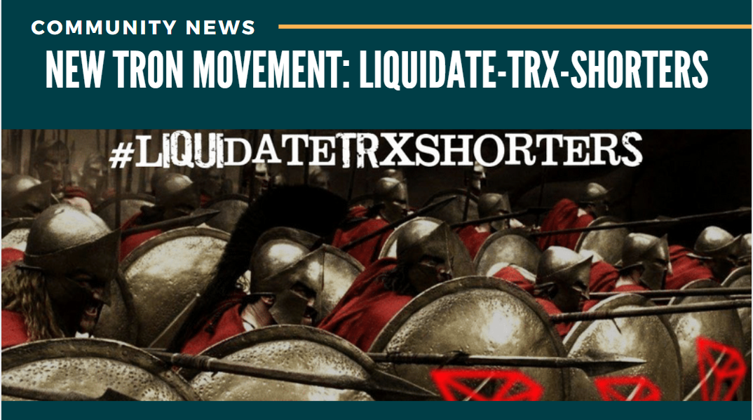The New Tron Movement: LiquIdate Trx Shorters