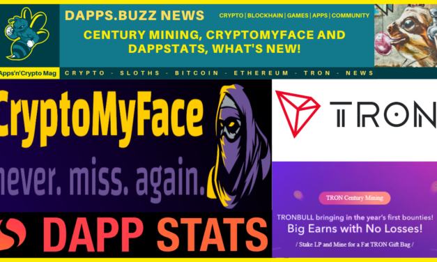 Century Mining, CryptoMyFace and DappStats! It's all Pumping!!