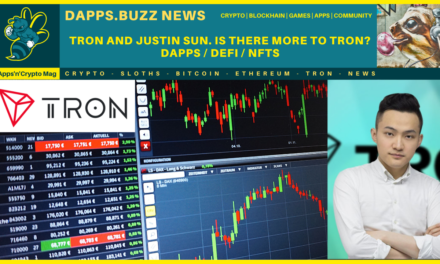Tron and Justin sun? Is there more to Tron –  Dapps / defi